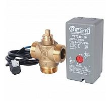 STOUT  Компактный 3-Ходовой зональный клапан, сервопривод 230V, с кабелем 1м., НР 1