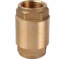 STOUT  1 Клапан обратный пружинный муфтовый с металлическим седлом