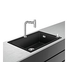 Кухонная мойка с встроенным смесителем Hansgrohe C51-F660-07 77x51 43218000