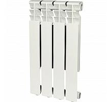 ROMMER Optima 500 4 секций радиатор алюминиевый (RAL9016)