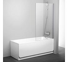 Шторка для ванны Ravak PVS1 80 Pivot 79840U00Z1 (сатин + транспарент)