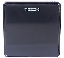 TECH  Беспроводной комнатный датчик температуры, черный