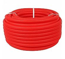 STOUT SPG-0002 Труба гофрированная ПНД, цвет красный, наружным диаметром 25 мм для труб диаметром 20 мм
