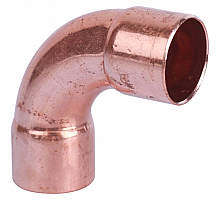 Sanha  5002aE отвод 90° ВП-ВП, 22, для медных труб под пайку