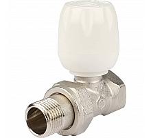 STOUT SVRs Клапан ручной терморегулирующий с неподъемным шпинделем, прямой 1/2
