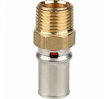 STOUT   Переходник с наружной резьбой 1/2х16 для металлопластиковых труб прессовой
