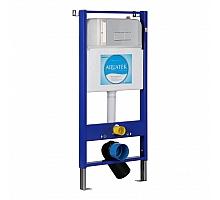Инсталляция для унитаза Aquatek Slim 113x51 INS-0000005 клавиша хром глянцевый
