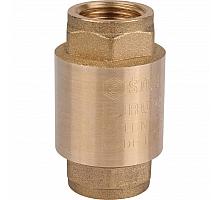 STOUT  1/2 Клапан обратный пружинный муфтовый с металлическим седлом