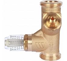 Watts  Вентиль баланс.НP SRV-AG15 с расходомером(1,2-16л/м)