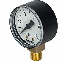 Watts  F+R200(MDR) 50/ 10x1/4 Манометр радиальный 50мм, 0-10 бар