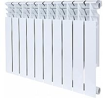 ROMMER  Plus BM 500 10 секций радиатор биметаллический (RAL9016)
