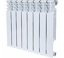 ROMMER  Plus BM 500 8 секций радиатор биметаллический (RAL9016)