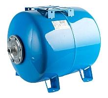 STOUT STW-0003 Расширительный бак, гидроаккумулятор 80 л. горизонтальный (цвет синий)