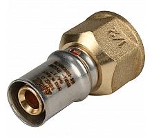 STOUT   Переходник с внутренней резьбой 1/2х16 для металлопластиковых труб прессовой