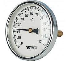 Watts  F+R801(T) 100/100 Термометр биметаллический  с погружной гильзой  100 мм