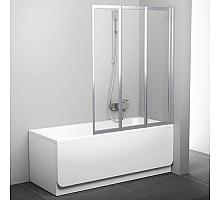 Шторка для ванны Ravak VS3 130 795V0100Z1 Supernova (белый + транспарент)