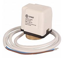 STOUT STE-0010 Электротермический компактный сервопривод, нормально закрытый, 230 B