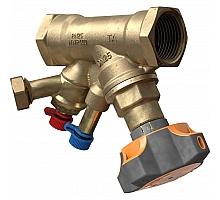 HEIMEIER  Клапан балансировочный ручной STAD с дренажем, внутренняя резьба, DN 25, Kvs = 8,59 м3/ч, Tmax = 120°C, PN25, материал корпуса - AMETALN
