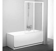 Шторка для ванны Ravak VS2 105 796M0100ZG (белый + грапе)
