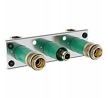 Скрытая часть термостата Hansgrohe ShowerTablet 600 13129180 для 2 потребителей