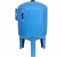 STOUT STW-0002 Расширительный бак, гидроаккумулятор 80 л. вертикальный (цвет синий)