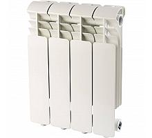 Global ISEO 350 Global ISEO 350 4 секции радиатор алюминиевый боковое подключение (белый RAL 9010)