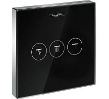 Модуль Hansgrohe ShowerSelect с 3 запорными клапанами, стеклянный 15736600