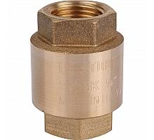 STOUT  1/2 Клапан обратный пружинный муфтовый с пластиковым седлом