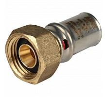 STOUT   Переходник с накидной гайкой 1/2х16 для металлопластиковых труб прессовой