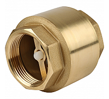 Itap YORK 103 1 1/2  Клапан обратный пружинный муфтовый с пластиковым седлом
