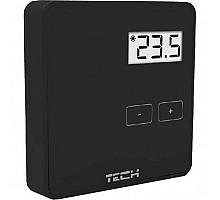 TECH ST-294 v1 Проводной комнатный двухпозиционный терморегулятор, черный