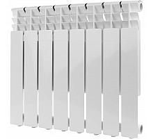 ROMMER  Optima 500 8 секций радиатор алюминиевый (RAL9016)