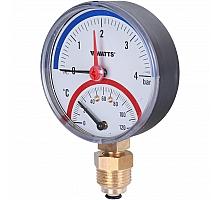Watts  Термоманометр F+R828 DN 80 (0-4 бар)