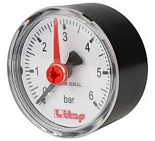 Itap  483R 1/4 Манометр осевое подключение 0-6 бар