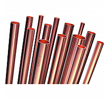 HME SANCO Труба медная неотожженная SANCO D 15 х 1,0 EN 1057 (50/1000), в штангах по 2,5 м
