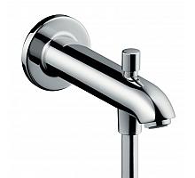 Излив на ванну Hansgrohe 22,8 см с переключателем на душ 13424000