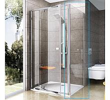 Неподвижная душевая стенка Ravak Pivot PPS-90 (белый+транспарент) 90G70100Z1