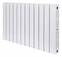 RIFAR  SUPReMO 500 12 секций радиатор биметаллический боковое подключение (белый RAL 9016)