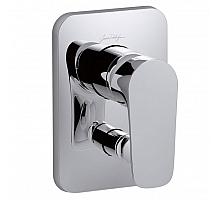 Смеситель для ванны с переключателем на 2 выхода, (лицевая панель) Jacob Delafon Aleo E98717-CP