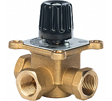 STOUT трехходовой смесительный клапан 1/2 KVs 2,5