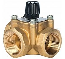 STOUT трехходовой смесительный клапан 1 1/2 KVs 26