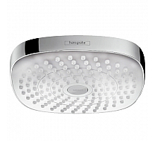 Верхний душ Hansgrohe Croma Select E 180 2jet (белый/хром) 26524400