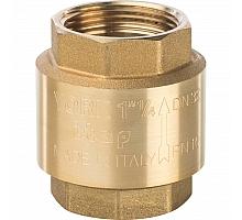 STOUT  1 1/4 Клапан обратный пружинный муфтовый с пластиковым седлом