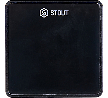 STOUT  Проводной комнатный датчик C-7p, черный
