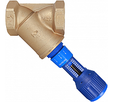 Cimberio Cimberio Клапан балансировочный ручной 727ОТ 20  обычн. латунь Kvs=50,52 PN20 BB без изм. ниппелей Cimberio