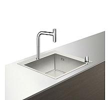 Кухонная мойка с встроенным смесителем Hansgrohe C71-F450-06 55x50 43201000