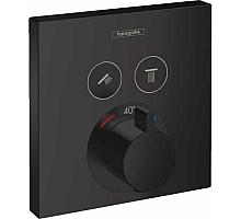 Термостат для ванны Hansgrohe ShowerSelect на 2 потребителя 15763670