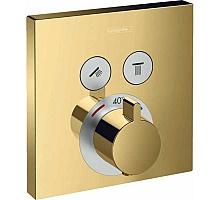 Термостат для ванны Hansgrohe ShowerSelect на 2 потребителя 15763990