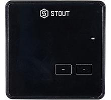 STOUT  Проводной комнатный регулятор R-9z, черный